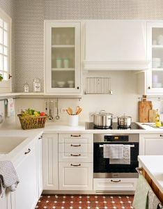 Kitchen sets also una cocina pequena  perfecta elmueble cocinas banos rh pinterest
