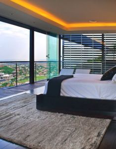 Architecture design bedroom decoration ideas as open sliding glass plan modern residence south africa outstanding delux also house tati nico van der meulen architects johannesburg rh pinterest