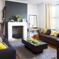 yellow mustard living room - Buscar con Google | Ideas ...
