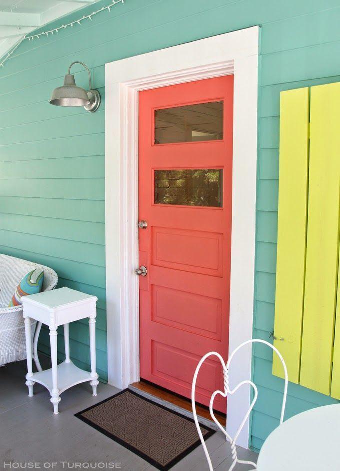 Coral Door Jane Coslick Doc Holiday Cottage Tybee Island