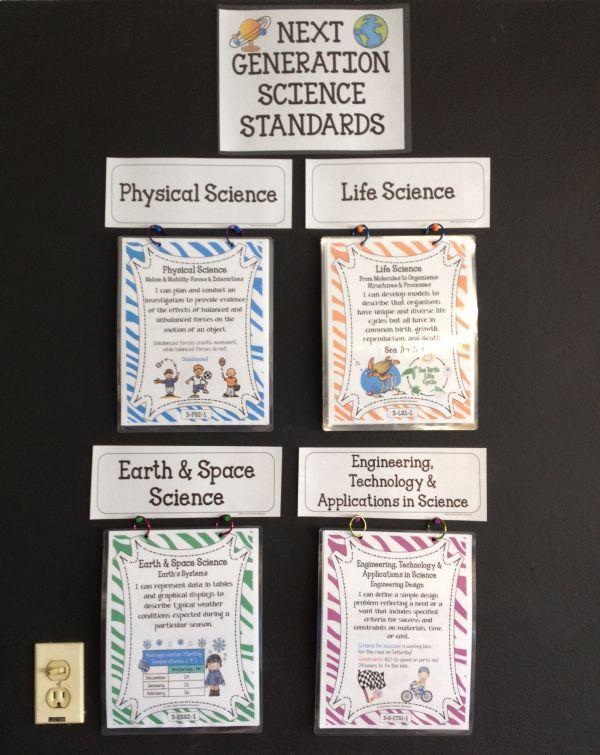 1st Grade Statements - Generation Science