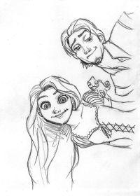 Guarda tutti i disegni da colorare di Rapunzel www ...