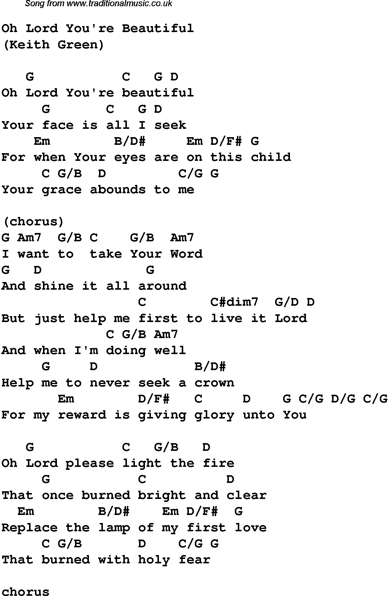 Years Love Piano Chords