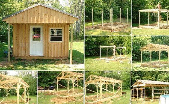 Comment Construire Une Cabane 12x20 3 6x6 Pas Cher