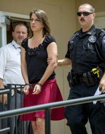 Handcuffed Female Teacher Sentenced to Prison