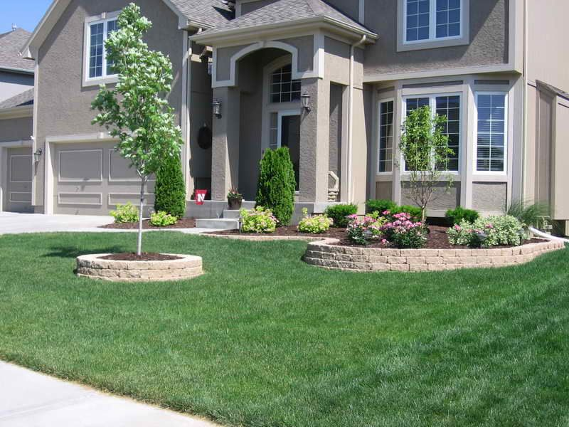 Landscaping Ideas With Landscaping Blocks Landscape Ideas For