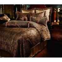 Luxury Designer Comforter Sets | ... Manchester Gold Black ...