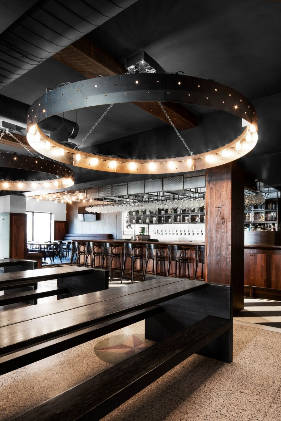 Beer Lovers Will Swoon Over This Industrial Bar Design in