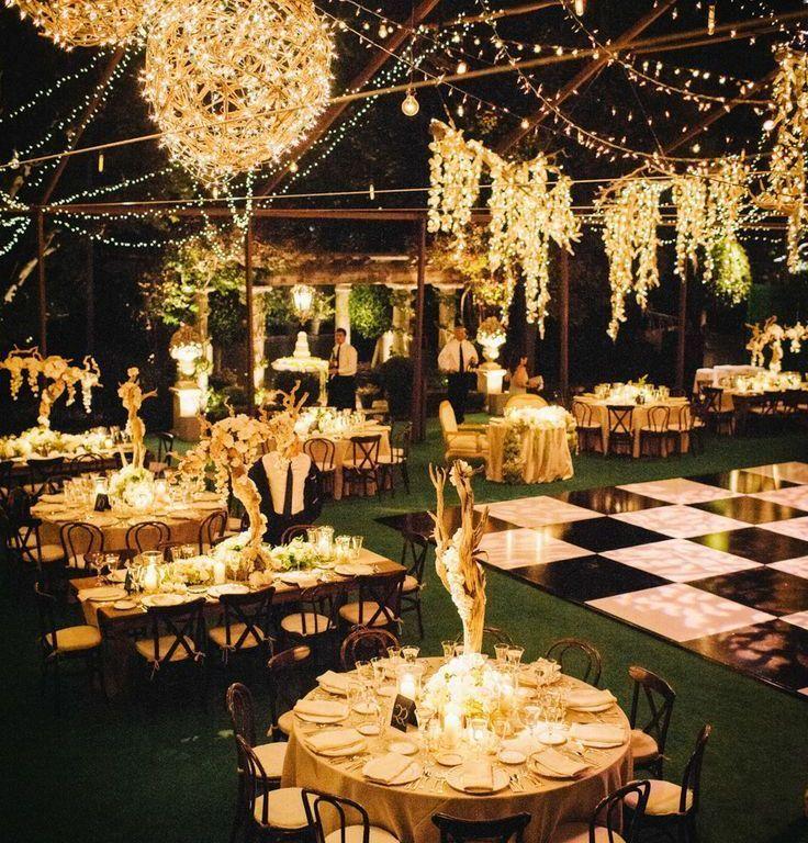 Outside Night Wedding Google Search Boda Leuca Pinterest