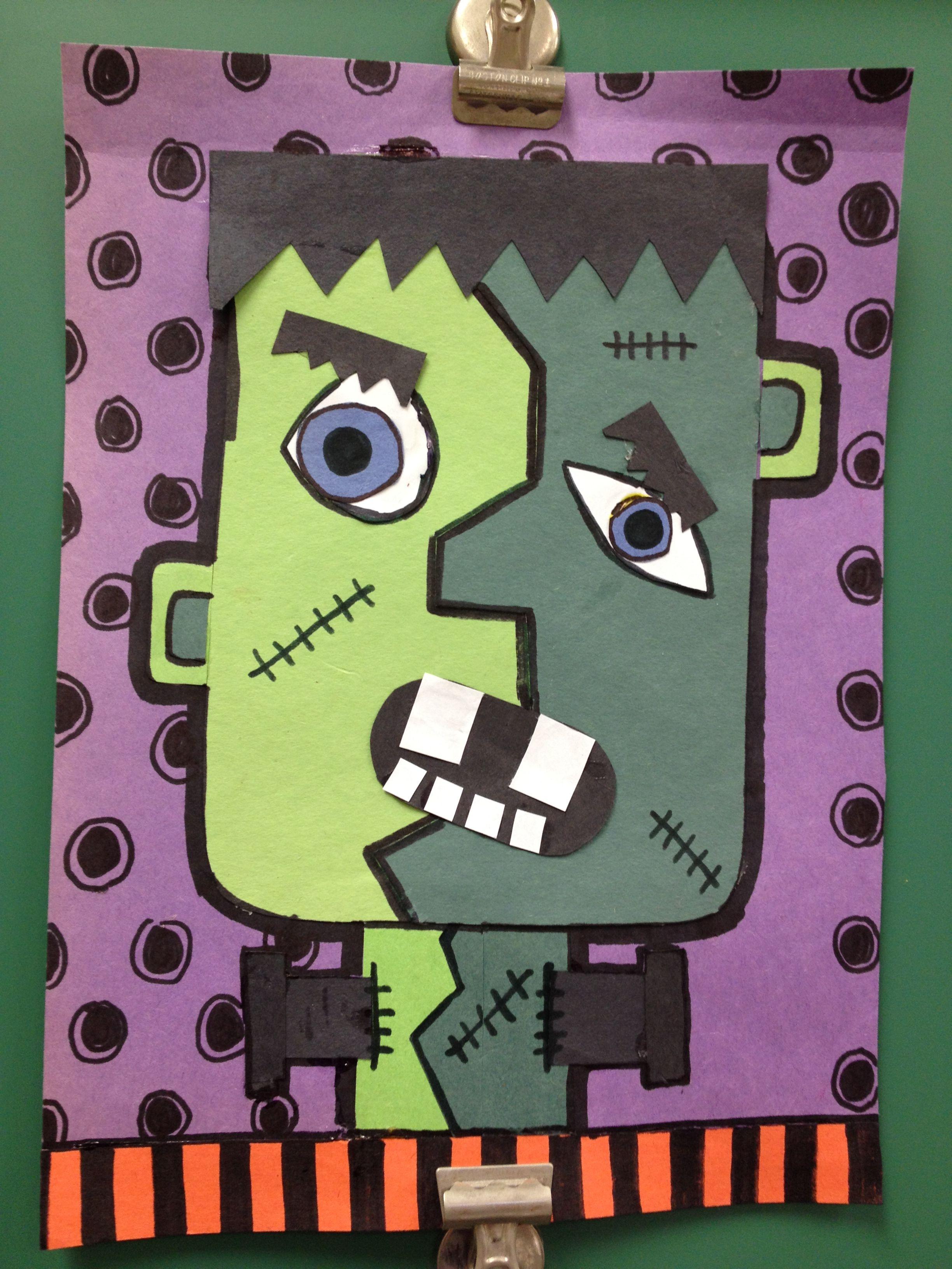 Red Ribbon Week Picasso Frankenstein Dont Let Drugs