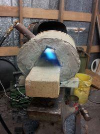 Homemade gas forge | Blacksmith Creative Tool Ideas ...