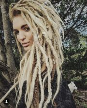 dreadlocks blondes dreads