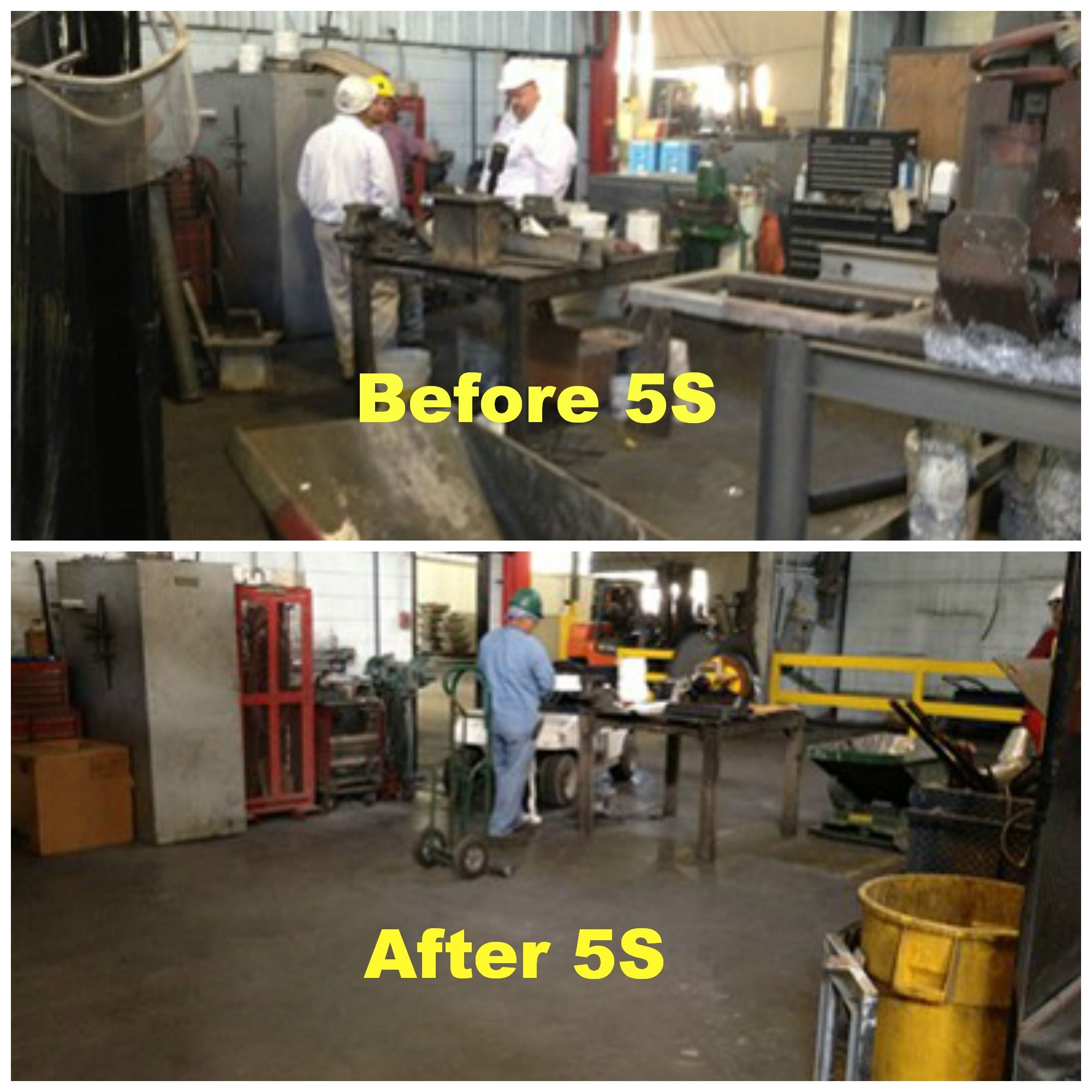 Implementing 5s Maintenance Shop