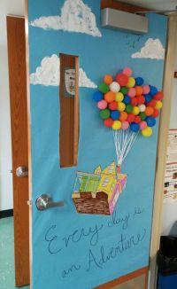 """Classroom Door Decor for Spring - """"Up"""" Disney Pixar ..."""