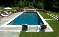 Swimming-pool : Calming Rectangular Pool Design With ...