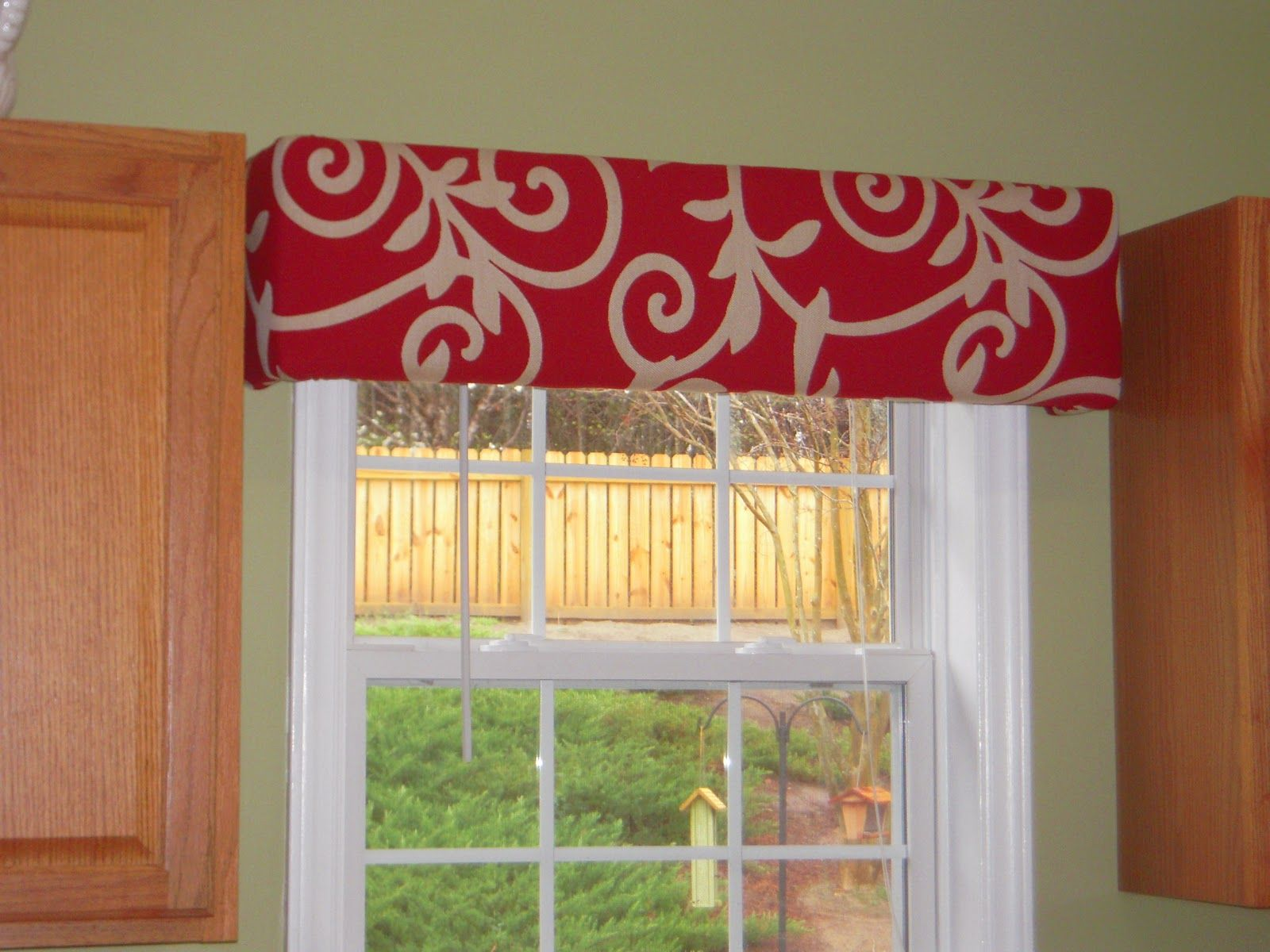 red valances for kitchen windows cabinet painting cost curtains window treatments need to spice up your