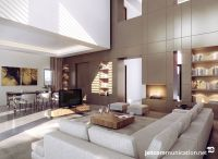Park Hyatt Marrakech: Living room view. | 3D INTERIOR ...