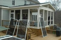 screened in porch ideas | ... porch is smaller. We don't ...