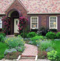 Front Yard Cottage Garden John Cabot Climbing Roses   Lori ...