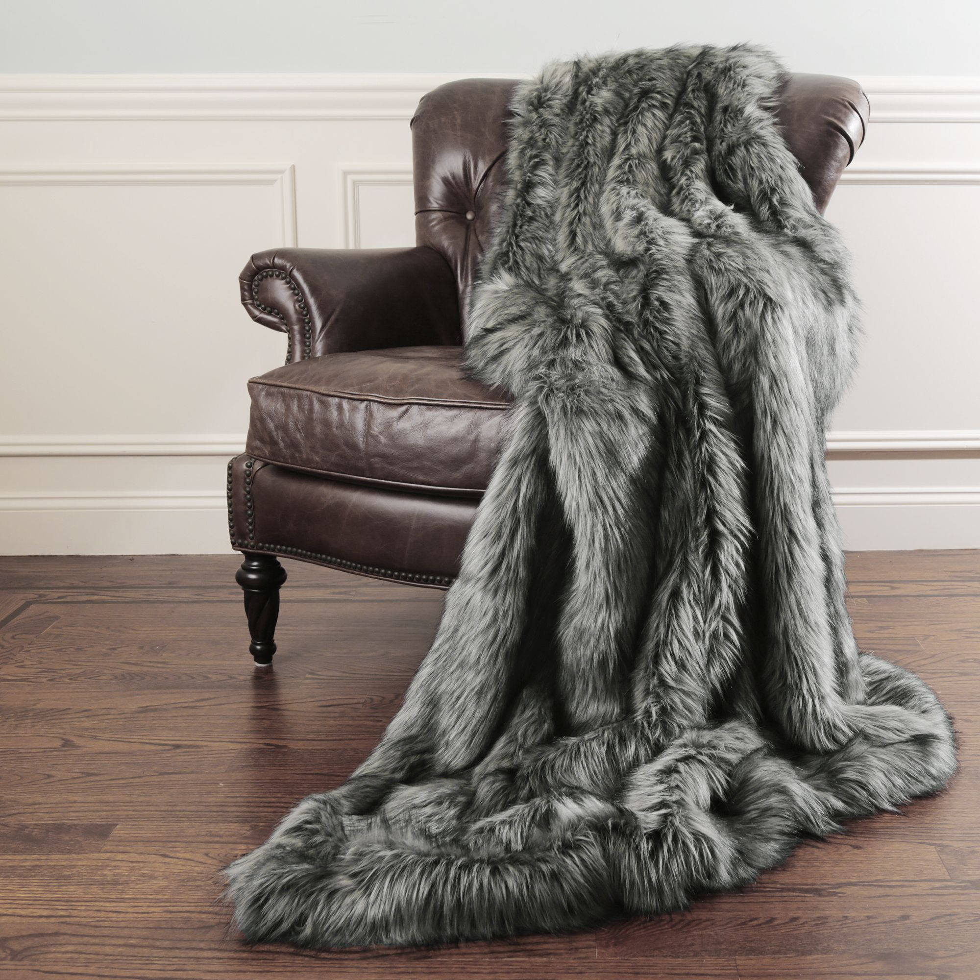 living room colour schemes brown sofa interior design ideas traditional each faux fur throw comes with a key chain. the ...
