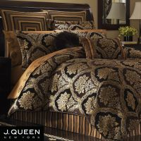 Hanover Damask Comforter Bedding by J Queen New York ...