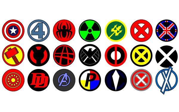 Fantastic 4 Logo Tee Shirts