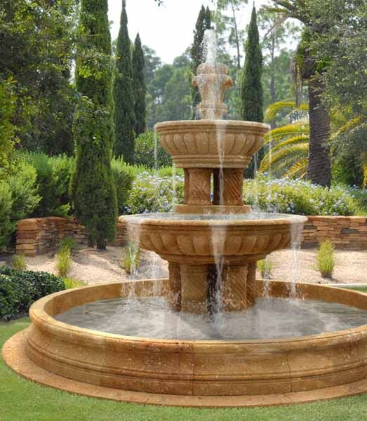 Water Fountains Front Yard And Backyard Designs Backyards