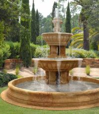 Water Fountains, Front Yard and Backyard Designs | Outdoor ...