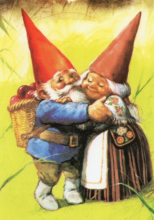 Lisa And David Gnome - Rien Poortvliet Pinteres