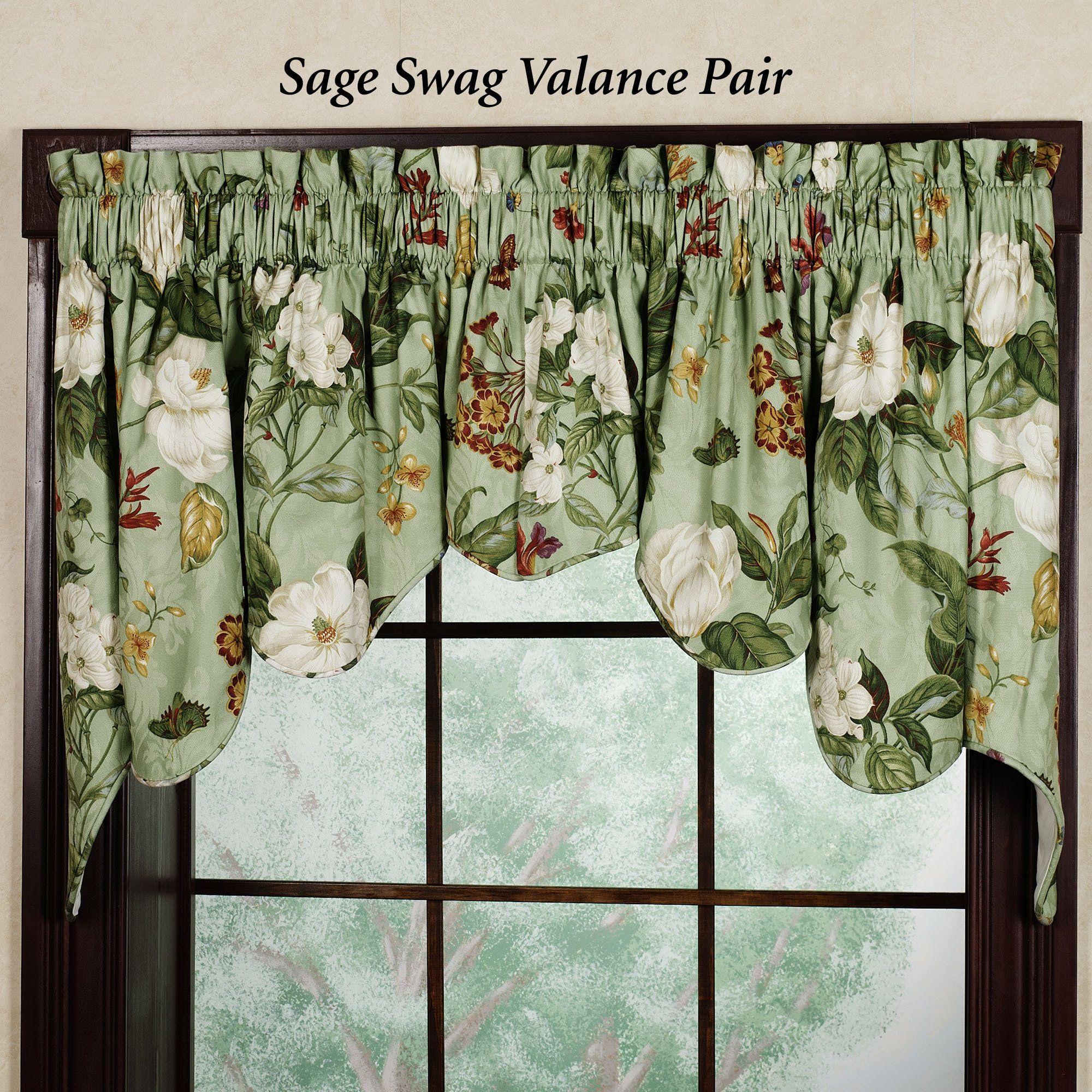 Beautiful Waverly Valances For Your Window Decor Vintage