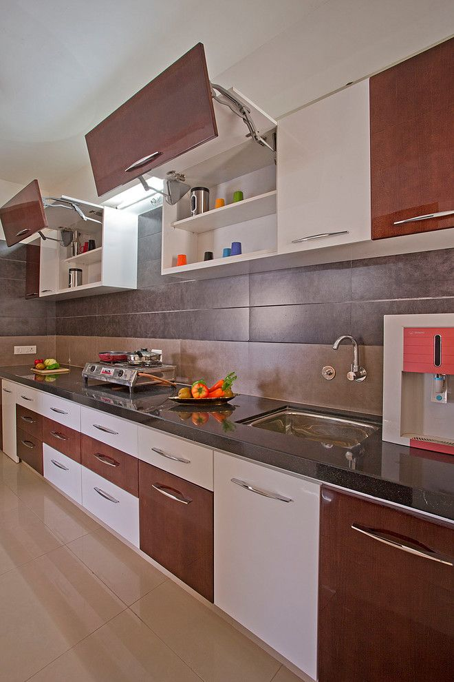 L Shaped Kitchen Designs Indian Homes