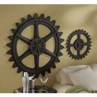 Industrial gears (wall art) | Apartment Ideas | Pinterest ...