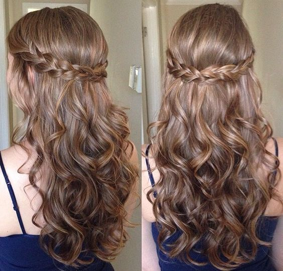 Easy Hairstyles For Long Curly Hair Long Hairstyles 2017