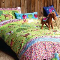 girls pony horse bedroom ideas | Horses Duvet Set | Girls ...