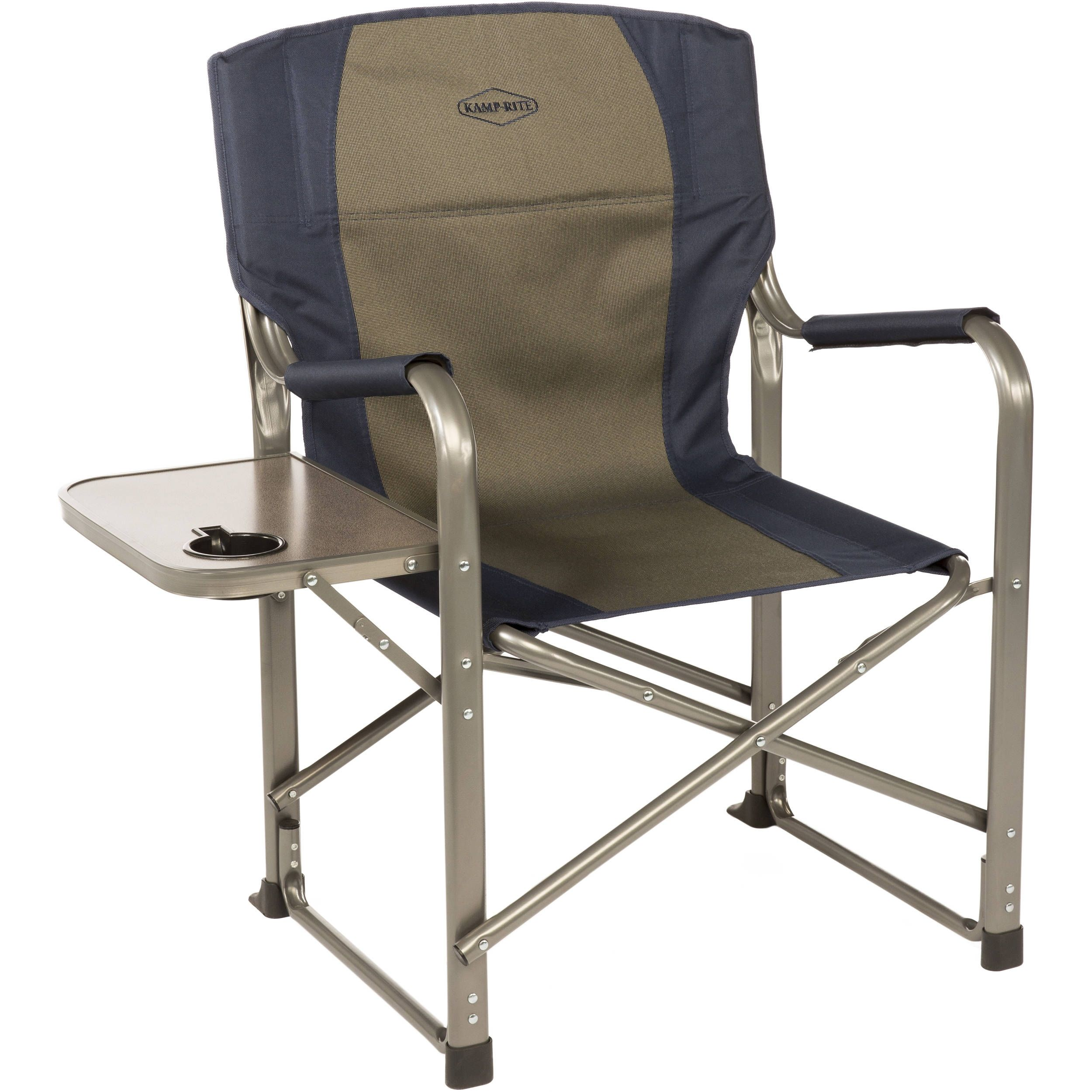 heavy duty folding chair with side table posture fixer directors http