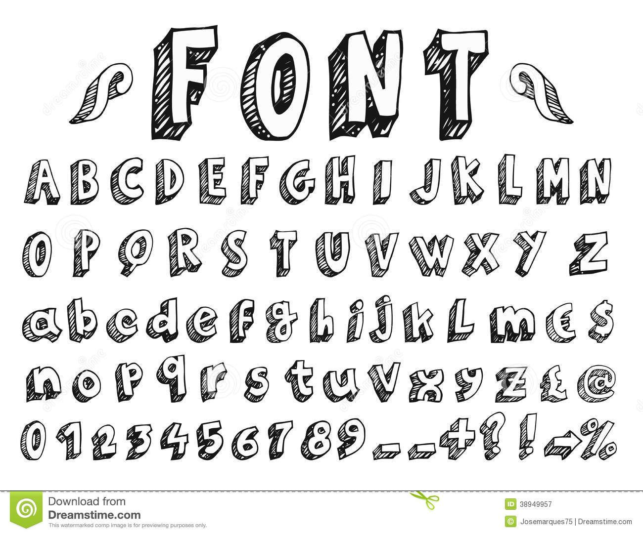 S Dreamstime Royalty Free Stock Photography Handwritten Font Hand Drawn Alphabet