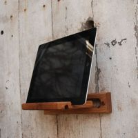 iPad Easel by Peg and Awl | Wood walls and Wall mount
