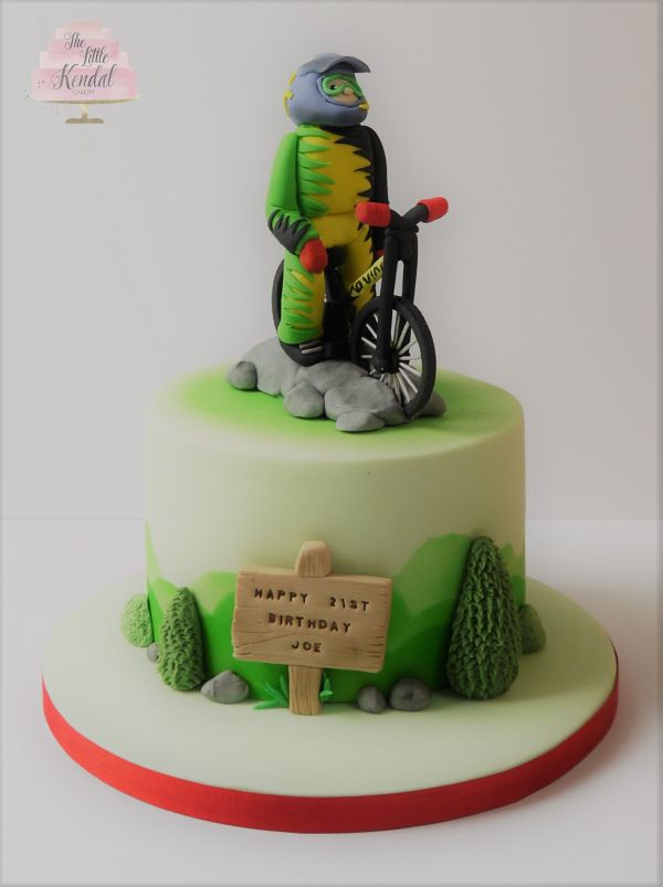 Mountain Bike Cake Ideas