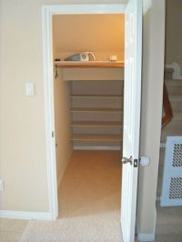 storage under the stairs closets - Google Search | For the ...