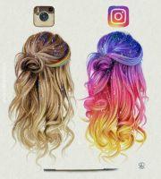 result instagram hair