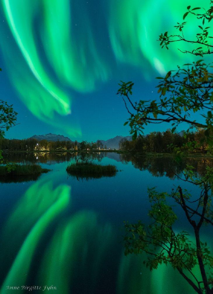 Tromso September Northern Lights