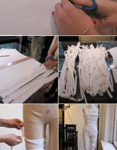 Still looking for  halloween costume here   quick and cool mummy diy also wtf kids costumes on budget home pinterest rh