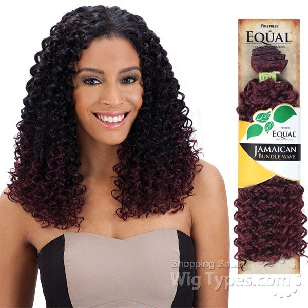 Freetress Equal Synthetic Weave JAMAICAN BUNDLE WAVE 7702