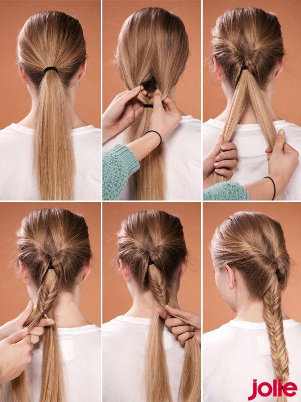 Frisuren Step By Step Frisur Flechtfrisuren Und Haar