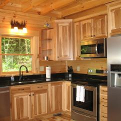 Black Kitchen Cabinets For Sale Vintage Islands Hickory With Granite Countertops