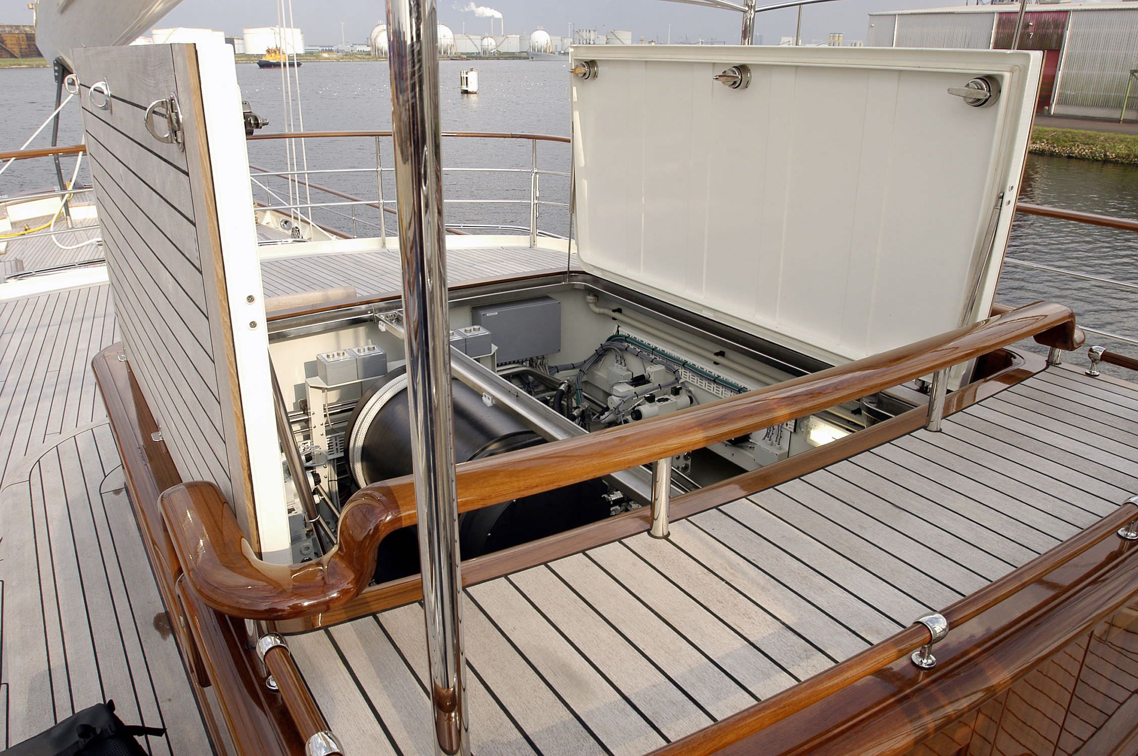 purchase plastic wood composite boat decking material