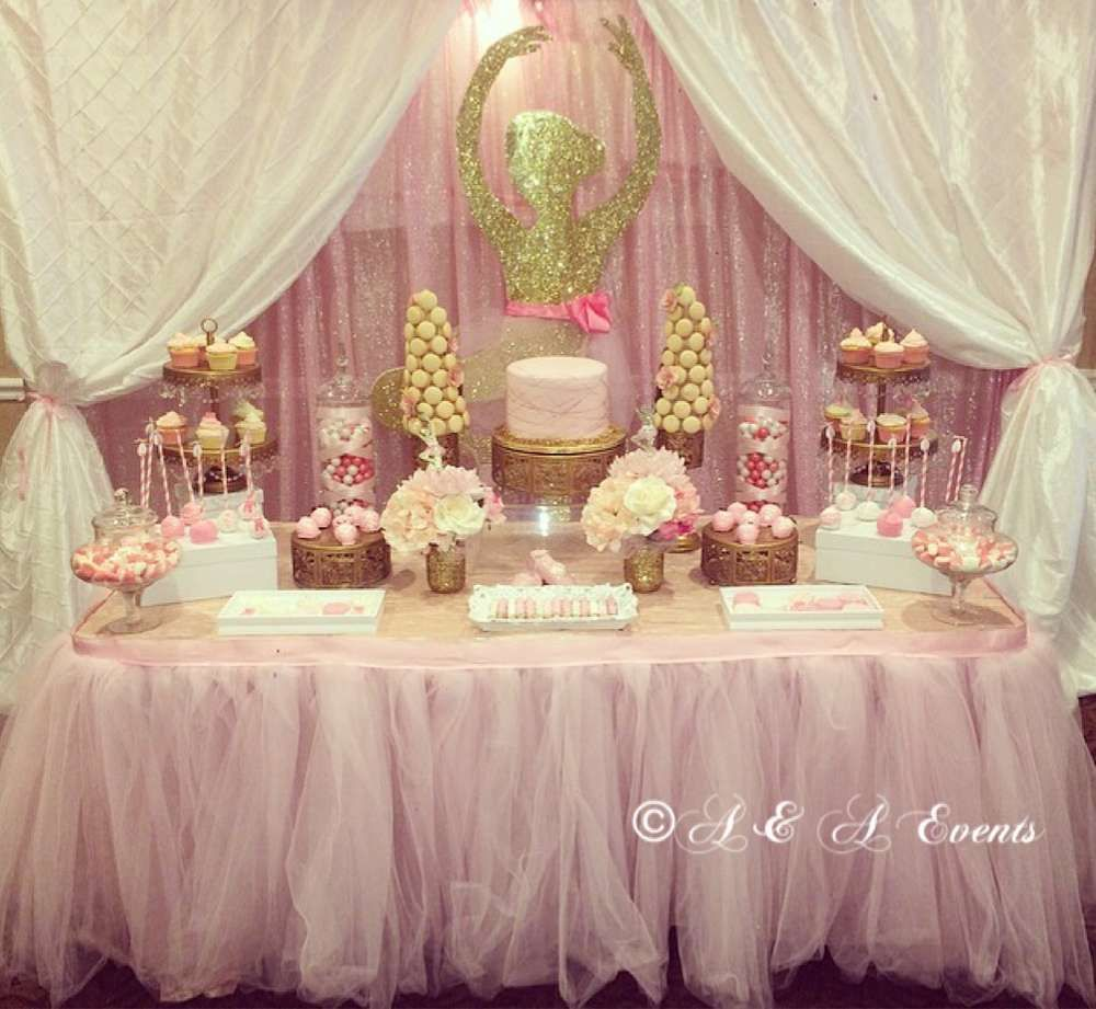 Ballerina Baby Shower Party Ideas