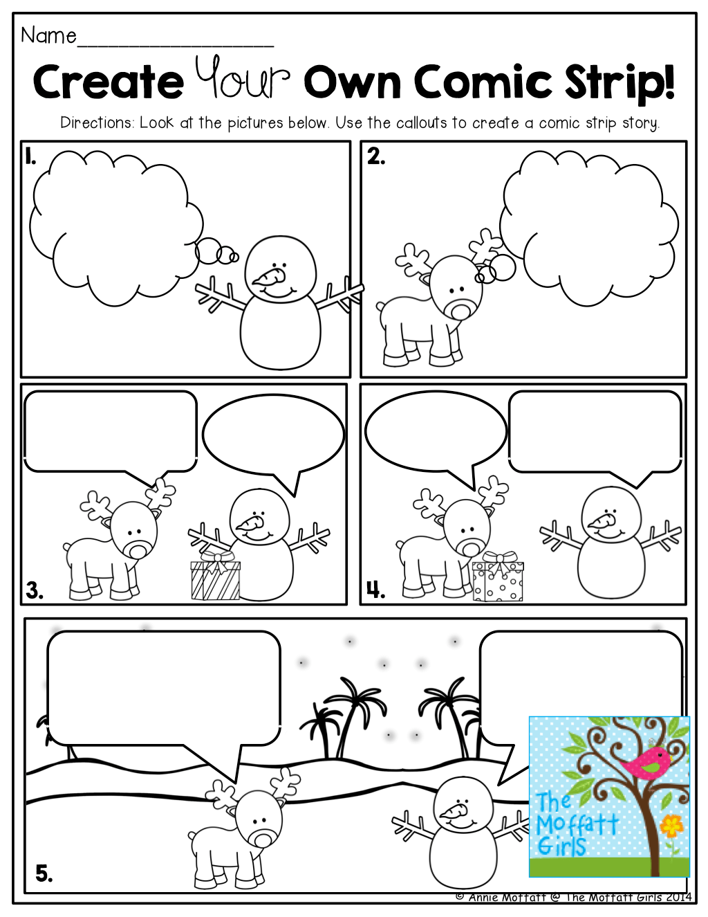 Create Your Own Comic Strip Tons Of Fun And Engaging