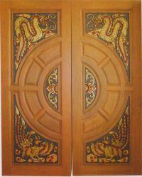Modern custom carving solid teak wood interior exterior ...