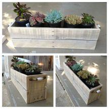 Planter' Box Pallet Wood